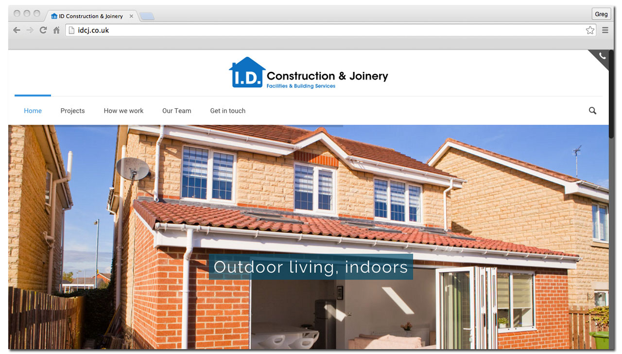 ID Construction and Joinery Website